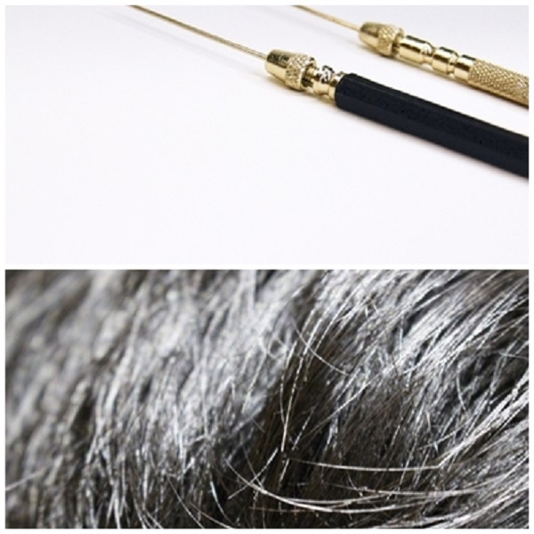 ウィッグの増毛修理。