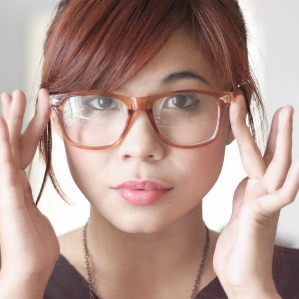 医療用ウィッグ、通常ウィッグと眼鏡との関係